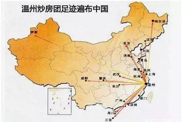 全国地�_遍布全国的温州炒房团